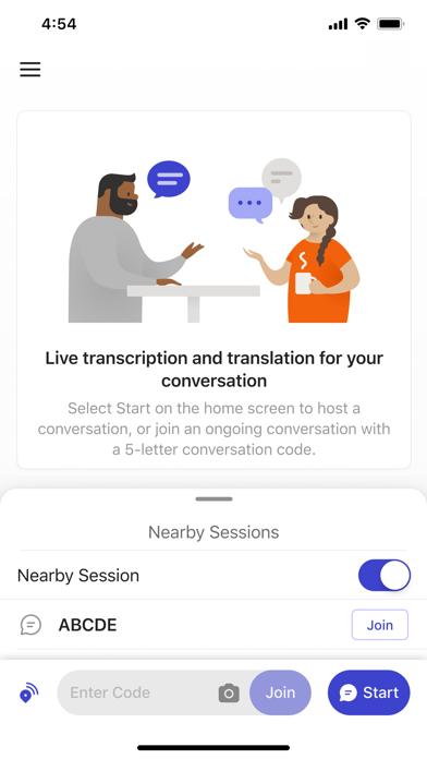 Group Transcribe screenshot 2
