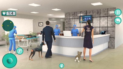 Virtual Pet Care Hospital Sim Screenshot on iOS