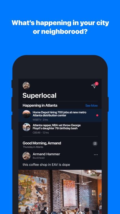 Superlocal: News and Neighbors