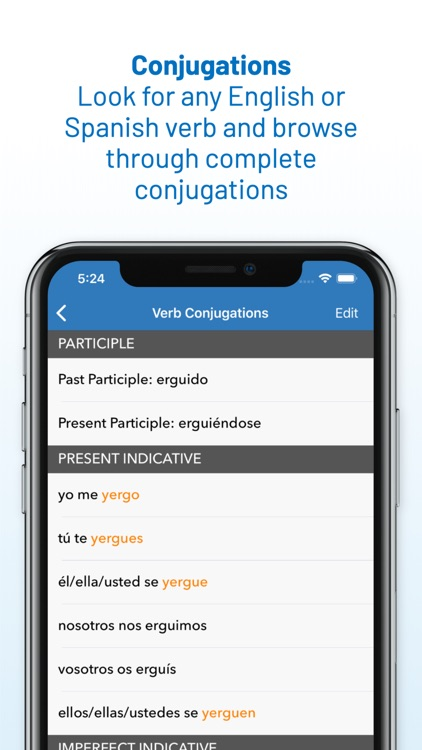 English Spanish Dictionary screenshot-3
