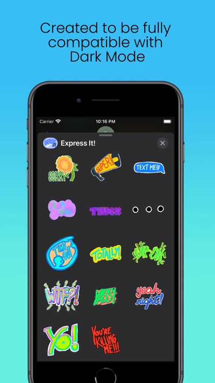 Express It! Animated Stickers