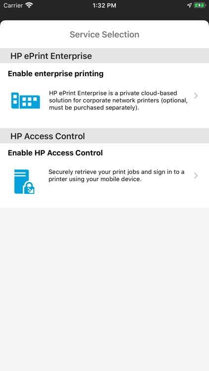 HPePrint Enterprise MobileIron