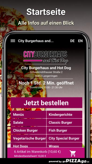 City Burgerhaus and Hot Dog screenshot 2