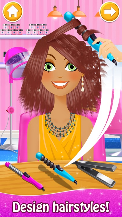 Hair Salon: Makeup Spa Games screenshot-0