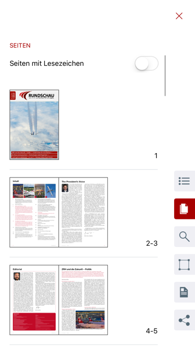 AEROPERS-Reader Screenshot