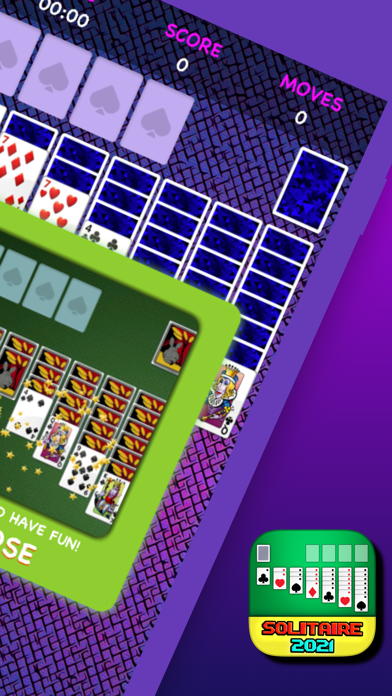 クラシックソリティア2021:シンプルなカードゲーム広告なし紹介画像2