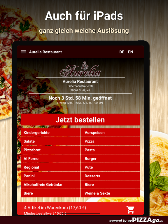 Aurelia Restaurant Stuttgart screenshot 8