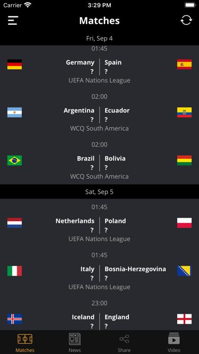 Football Today - Top matches screenshot 2