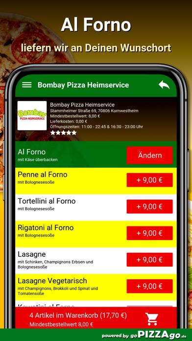 Bombay Pizza Kornwestheim screenshot 6