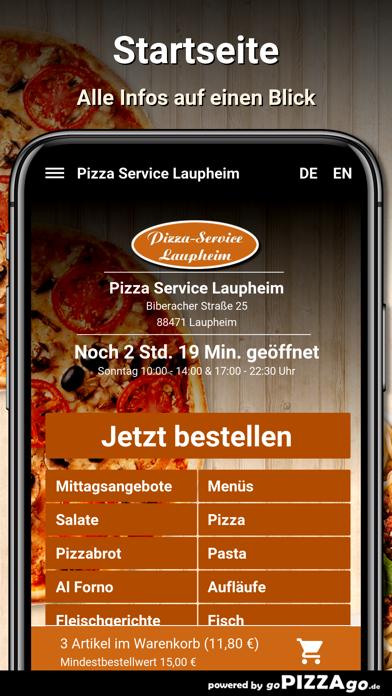 Pizza Service Laupheim screenshot 4