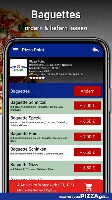 Point Neu-Ulm Pizza screenshot 6