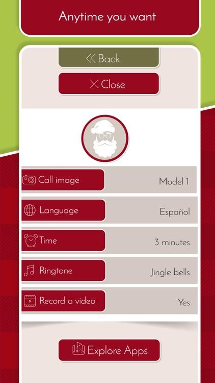 Santa Video Call – Fake Chat screenshot-3