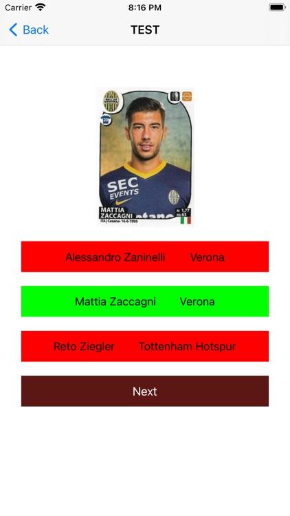 Soccer trading cards PRO screenshot-4
