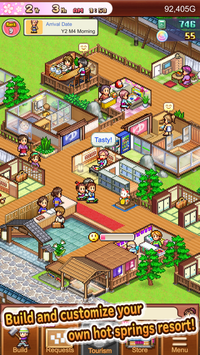 Hot Springs Story2 screenshot 1
