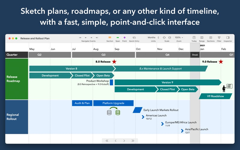 TimeStory скриншот программы 1