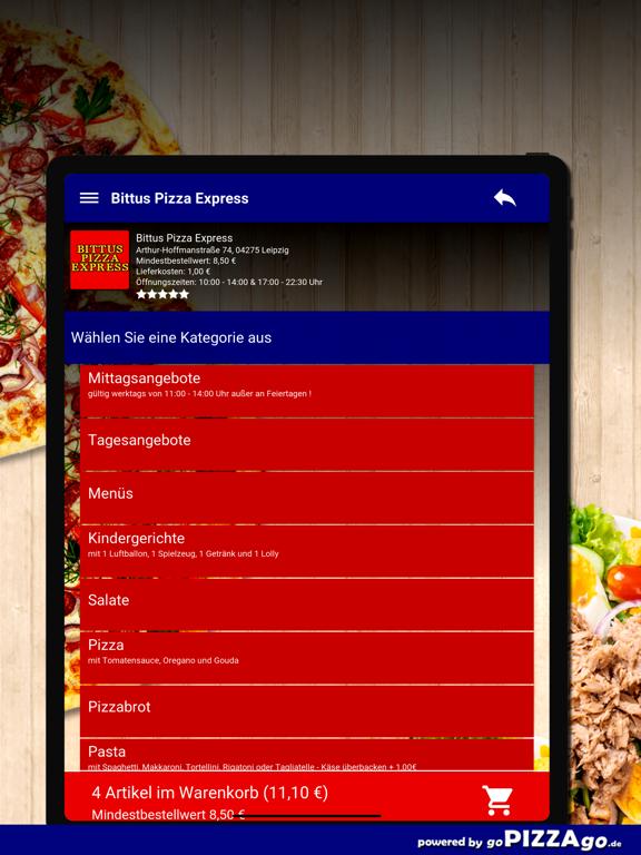 Bittus Pizza Express Leipzig screenshot 8