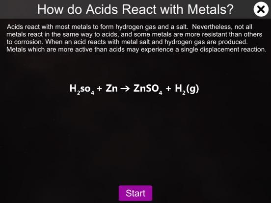 Acids react with metals screenshot 6