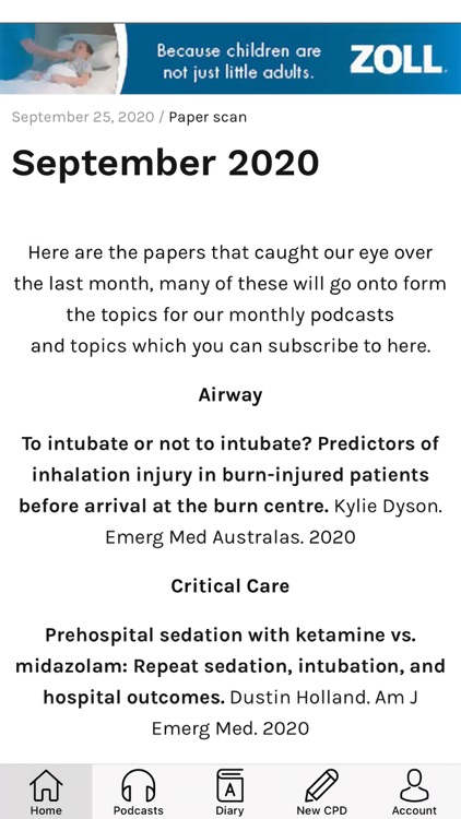The Resus Room CPD Diary
