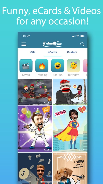 Animate Me Pro - GIFs & Ecards screenshot-1