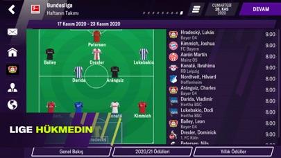 Football Manager 2021 Mobile iphone ekran görüntüleri