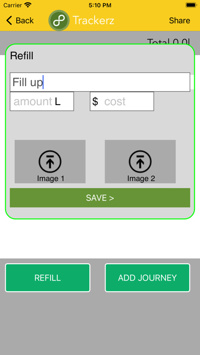 Trackerz screenshot 1