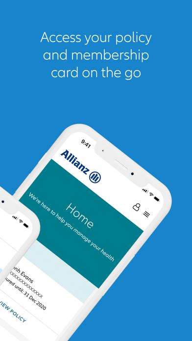 Allianz MyHealthScreenshot of 2