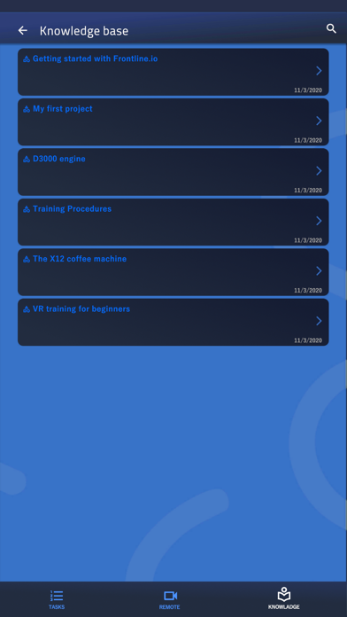 Frontline LLS Screenshot