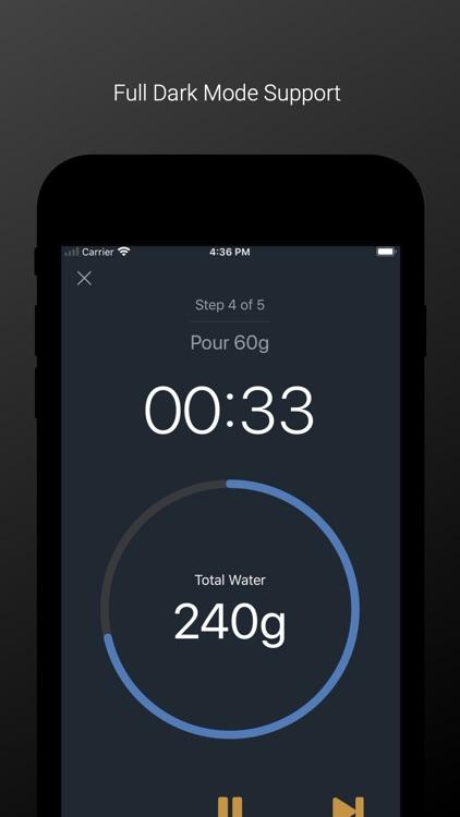 FourSix Coffee Timer screenshot-3