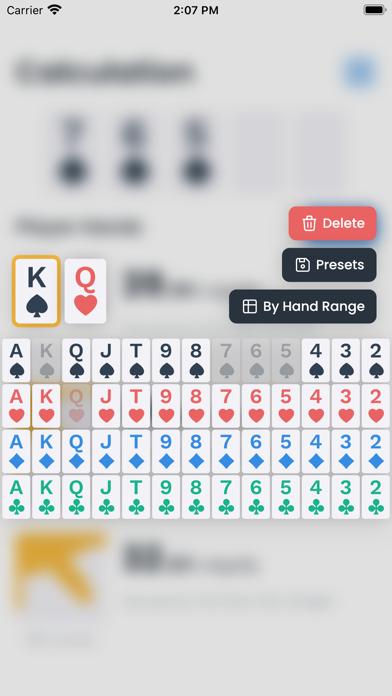 Odds Calculator for Pokerのおすすめ画像2