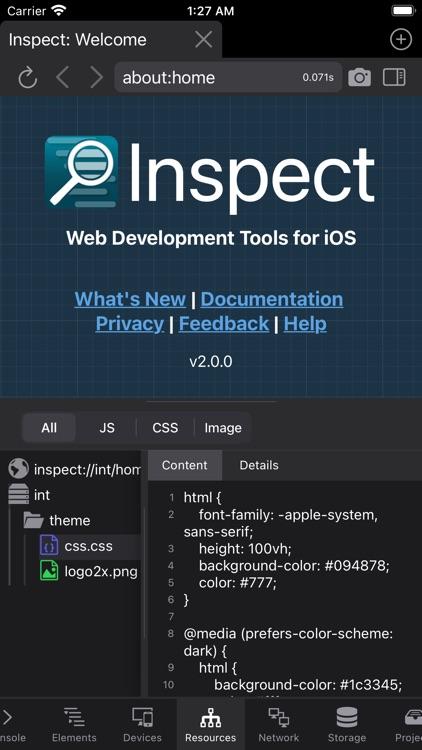 Inspect Browser screenshot-7