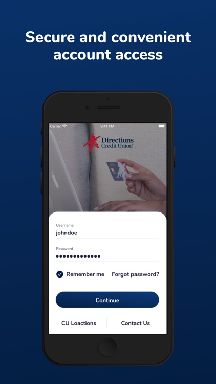 Directions CU Mobile Banking screenshot-4