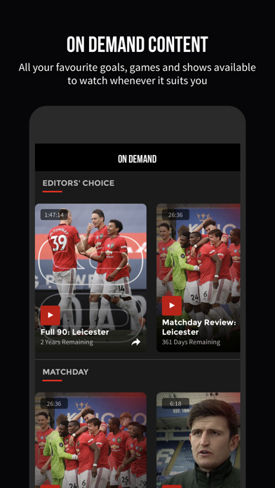 MUTV - Manchester United TV Screenshot