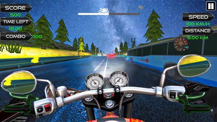 Moto Rider Highway Racer 3D screenshot-5