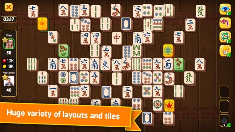 Mahjong Duels® Majong Board Go
