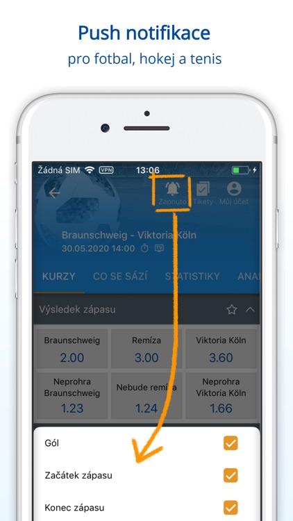 Tipsport CZ screenshot-5
