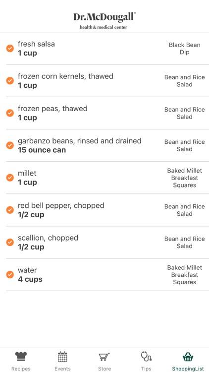 Dr. McDougall Mobile Cookbook screenshot-5