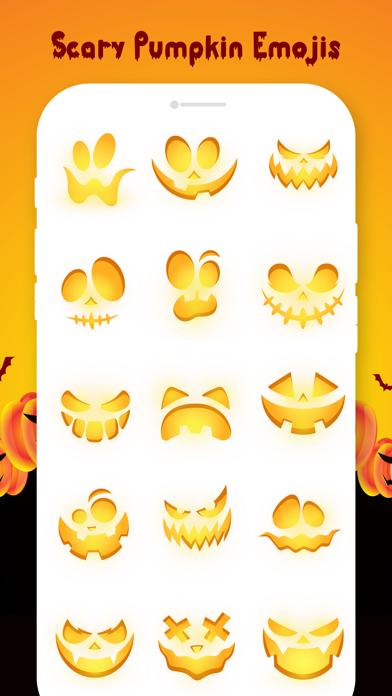 Scary Pumpkin Emojis screenshot 4