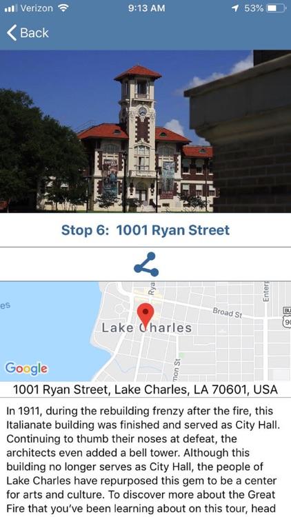 Lake Charles Historic Tour screenshot-3