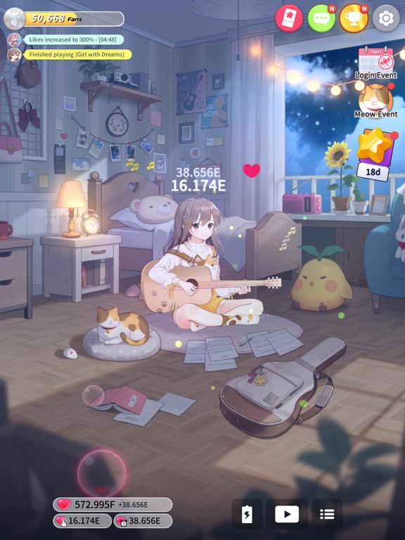 Guitar Girl:Relaxing MusicGame screenshot 10
