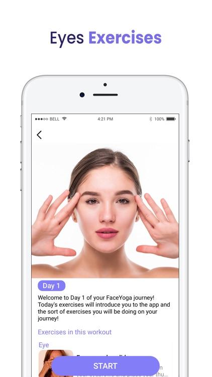 Face Exercises - Face Yoga screenshot-3