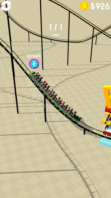 Hyper Roller Coaster screenshot 3