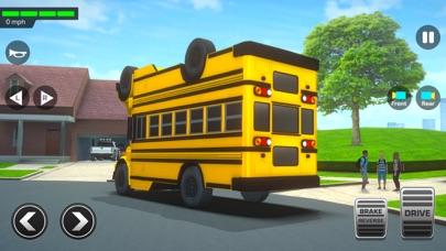 スーパーハイスクールバスドライビングシミュレーター3Dのおすすめ画像1