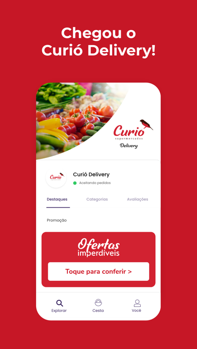Curió Delivery Screenshot