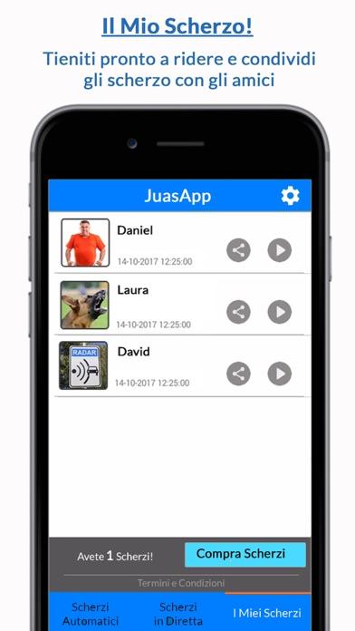 Screenshot of JuasApp - Scherzi3