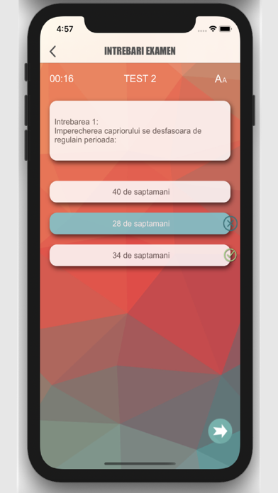 Intrebari Examen Vanatoare screenshot 3