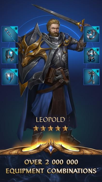Gemstone Legends - Match 3 RPG screenshot-3