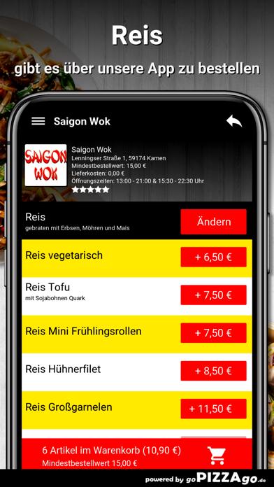 Saigon Wok Kamen screenshot 6