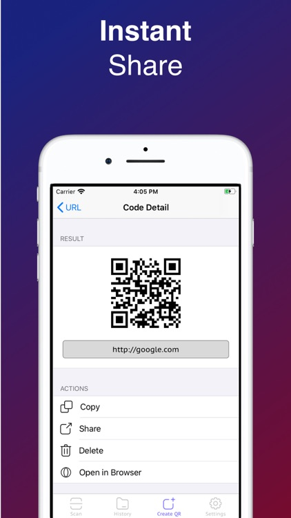 QR Code Reader-Barcode Scanner screenshot-4