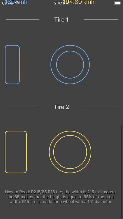Tire Size Calculator Plus screenshot-5