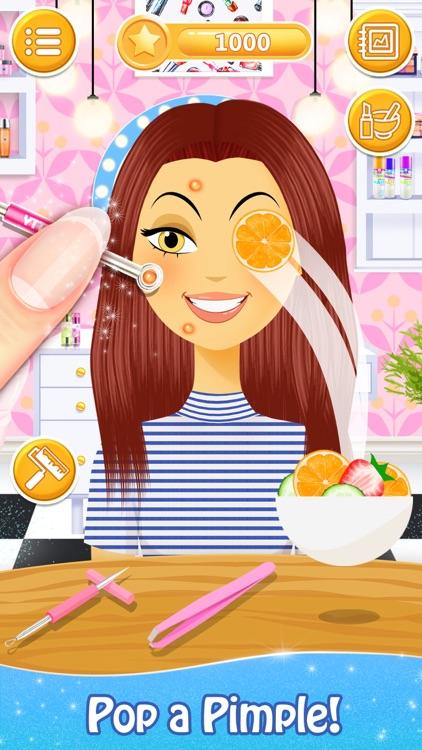 Salon Games for Girls: Spa Day screenshot-3